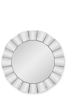 Showhome Waves Glass Mirror