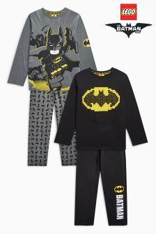 Lego Batman® Pyjamas Two Pack (4-10yrs)