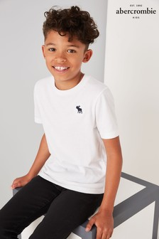 Abercrombie & Fitch White Classic T-Shirt