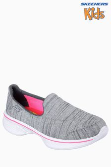 Skechers® Grey Skechers Go Walk 4