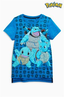 Squirtle Pokémon T-Shirt (3-14yrs)