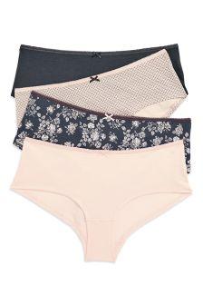 Cotton Shorts Four Pack