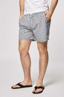 Mini Check Swim Shorts