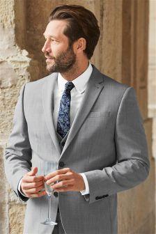 Wool Blend Suit: Jacket