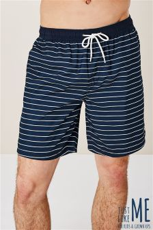 Breton Stripe Swim Shorts