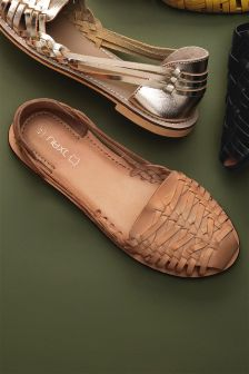 Two Part Woven Flats
