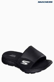 Skechers® Black On The Go Mesh Slider