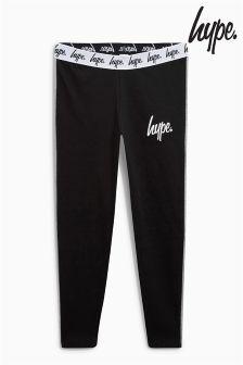 Hype Black/Grey Side Panel Legging