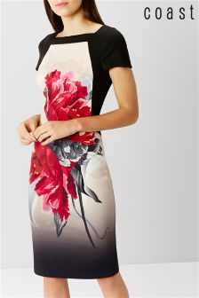 Coast Pink Floral Shift Dress