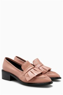 Ruffle Loafers