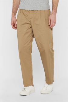 Short Pleated Trousers