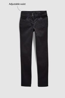 Стретчевые узкие брюки (3-16 лет)