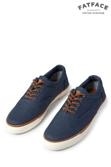 FatFace Navy Ashe Weekender Trainer