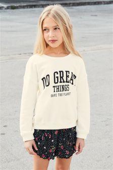 Slogan Sweater (3-16yrs)