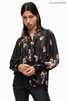 Warehouse Orange Barbara Printed Jumpsuit