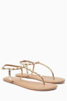 Bridal Pearl Sandals
