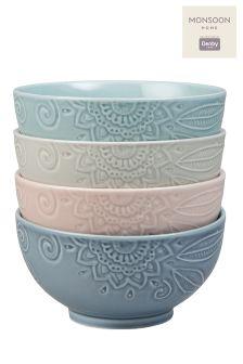 Monsoon Set Of 4 Small Bowls
