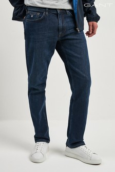 GANT Mid Blue Regular Jean