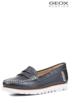 Geox Kookean Navy Loafer