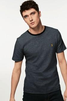 Jacquard Badge T-Shirt