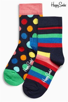 Rainbow Socks Two Pack (Older Boys)