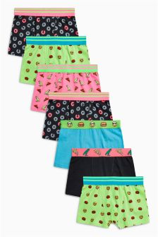 Dino Doughnut Trunks Seven Pack (2-16yrs)