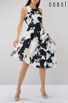 Coast Multi Rodilla Clipped Wow Dress