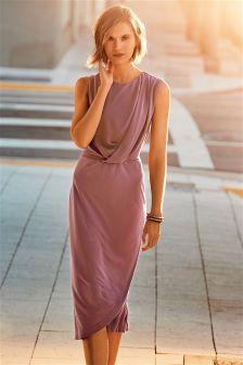 Платье из ткани купро