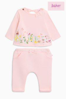 Baker by Ted Baker Pink  Mockable Dress
