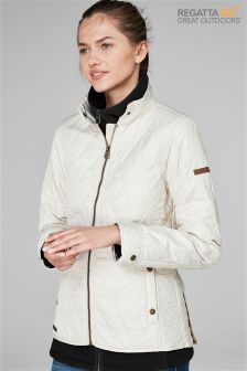 Regatta Cream Camryn Non Waterproof Jacket