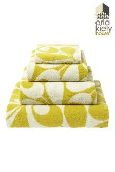 Orla Kiely Acorn Towels
