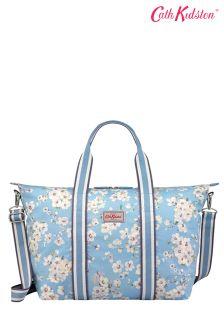 Niebieska torebka składana Cath Kidston® Wellesley Blossom