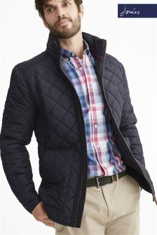 Joules Navy Retreat Quilted Jacket