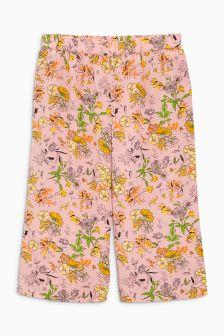 Floral Print Bright Culottes (3-16yrs)