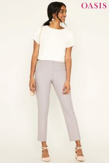 Oasis Camila Split Detail Suit Trouser
