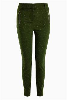 Dot Skinny Trousers