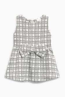 Check Ponte Dress (3mths-6yrs)