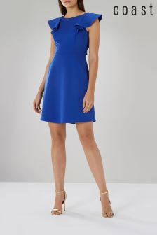 Coast Blue Evie Ruffle Dress