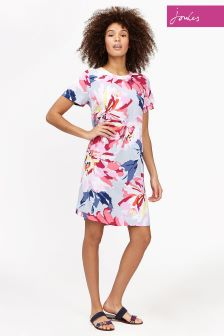 Joules Silver Whitstable Krista Dress