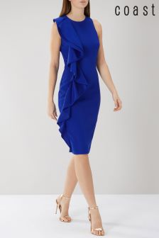 Coast Blue Marissa Ruffle Shift Dress
