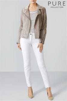 Pure Collection Laundered Linen Jacket
