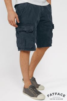 Fat Face Navy Cargo Short
