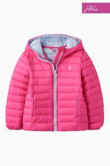 Ярко-розовый складывающийся пиджак Joules