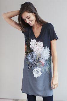 Oriental Print Tunic