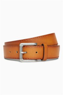 Casual Stitched Edge Belt