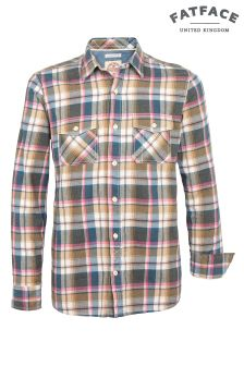 FatFace Gingersnap Oxted Check Shirt