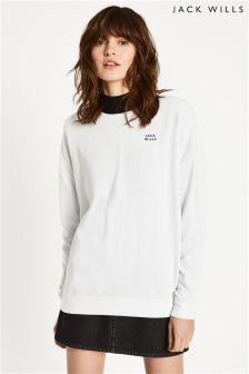Jack Wills White Madingley Sweatshirt