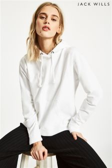 Jack Wills White Thanet Sporty Hoody