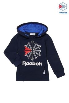 Reebok Collegiate Blue Fleece Large Classics Starcrest Hoody