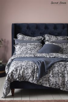Secret Linen Company Roses Duvet Cover